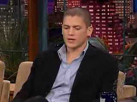 "Wentworth Miller at ""Tonight with Jay Leno Show"" -_eRbIqzimYk"