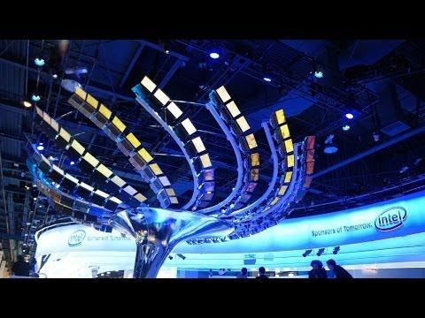 Intel 3D Realsense : 2014 CES Las Vegas Video