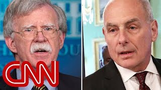 John Bolton and John Kelly get into heated shouting match
