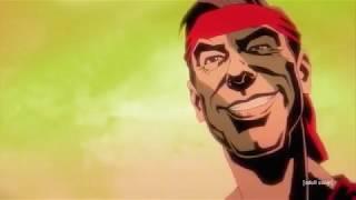 Greatest Anime Battle Ever: Black Dynamite Vs Mr Rogers