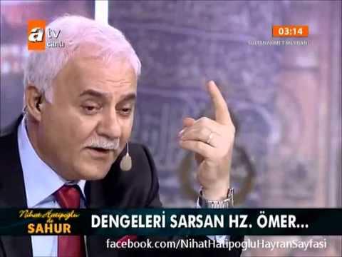 Nihat Hatipoğlu Hoca Efendi  ile Ramazan  Sahur sohbeti   12.08.2012 HZ.Ömer (R.A)