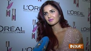 Katrina Kaif talks about her association with L'oreal product