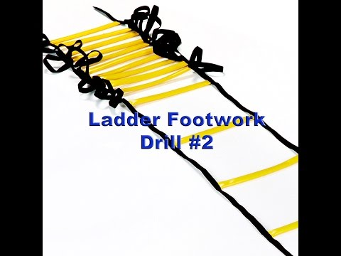 Improve Your Athletic Footwork -- Ladder Drill #2
