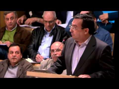 2014/03/24 - Manuel Gomes sobre o Regulamento de espaços verdes municipais e protecção da árvore