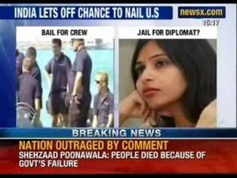 India lets off chance to nail US, 35 sailors let off easily - NewsX