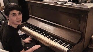 Dan playing piano // ft phil