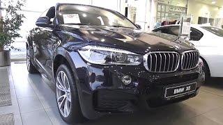 2016 BMW X6 xDrive40d (F16). Обзор (интерьер, экстерьер, двигатель).. MegaRetr