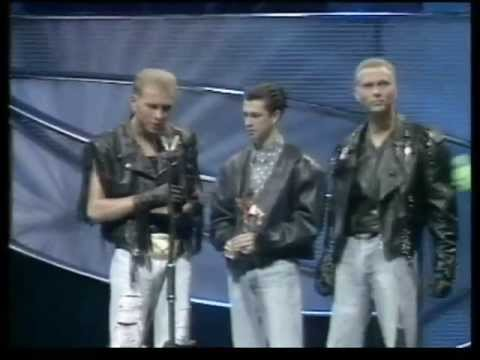 7. The Appearance At The BRITs, 1985