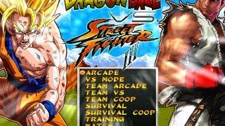 Dragon Ball Z Vs Street Fighter By Dbz Supakid [Full Game