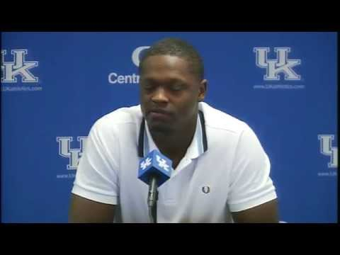 Kentucky Wildcats TV: Julius Randle Press Conference