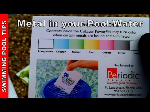 Metal In Pool Water How To Treat And Eliminate Metal Youtube