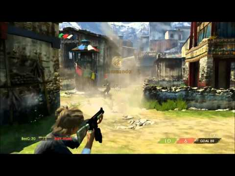 Uncharted 3 | 1v1 #3 (Friendly) | BeeG-30 vs XraY_iTanK