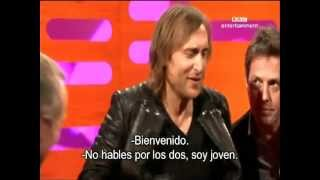 The Graham Norton Show (Jo Brand, Joanna Page, Hugh Grant and David Guetta)part6 - subtitulado
