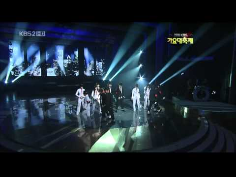 Super Junior feat. SHINee & SNSD - Smooth Criminal on KBS2 Gayo Daejun 30 December 2009