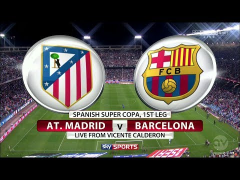 ATLETICO MADRID VS BARCELONA 0-0 (FOOTY FRIDAYS) GOALS & HIGHLIGHTS