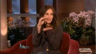 Julia Roberts - Ellen's Birthday's Surprise