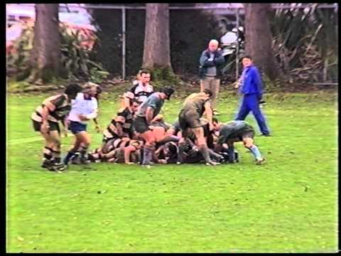 Dunedin Club Rugby 1995 - University A vs Southern Highlights