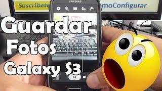 Como Guardar Las Fotos Automaticamente Micro Sd Samsung