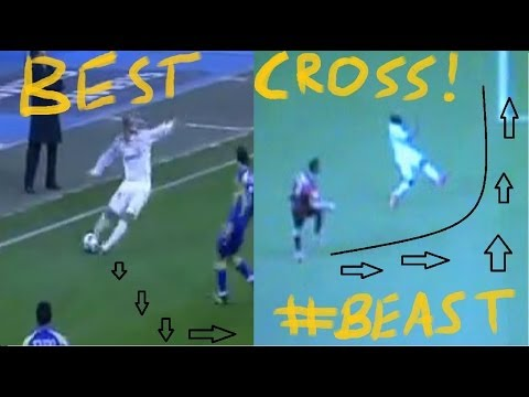 Best cross in football. Beckham vs C. Ronaldo!!!!