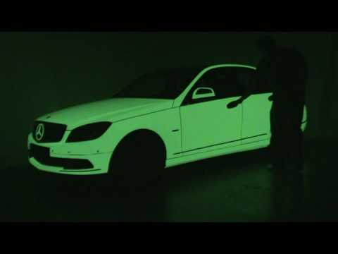 Carwrap Glow In The Dark Youtube