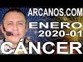 Video Horóscopo Semanal CÁNCER  del 29 Diciembre 2019 al 4 Enero 2020 (Semana 2019-53) (Lectura del Tarot)