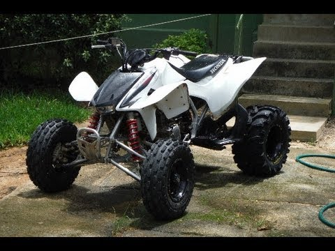 My Honda TRX 450ER is Finshed w/ ITP SS Wheels and Bear Claw 22x12-10