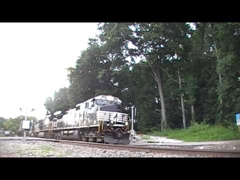 Norfolk Southern & Amtrak Crescent #20 (Second Shots) in Mableton,Ga 07-09-2013©
