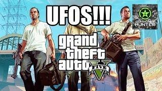 Grand Theft Auto V 3 UFO Easter Eggs