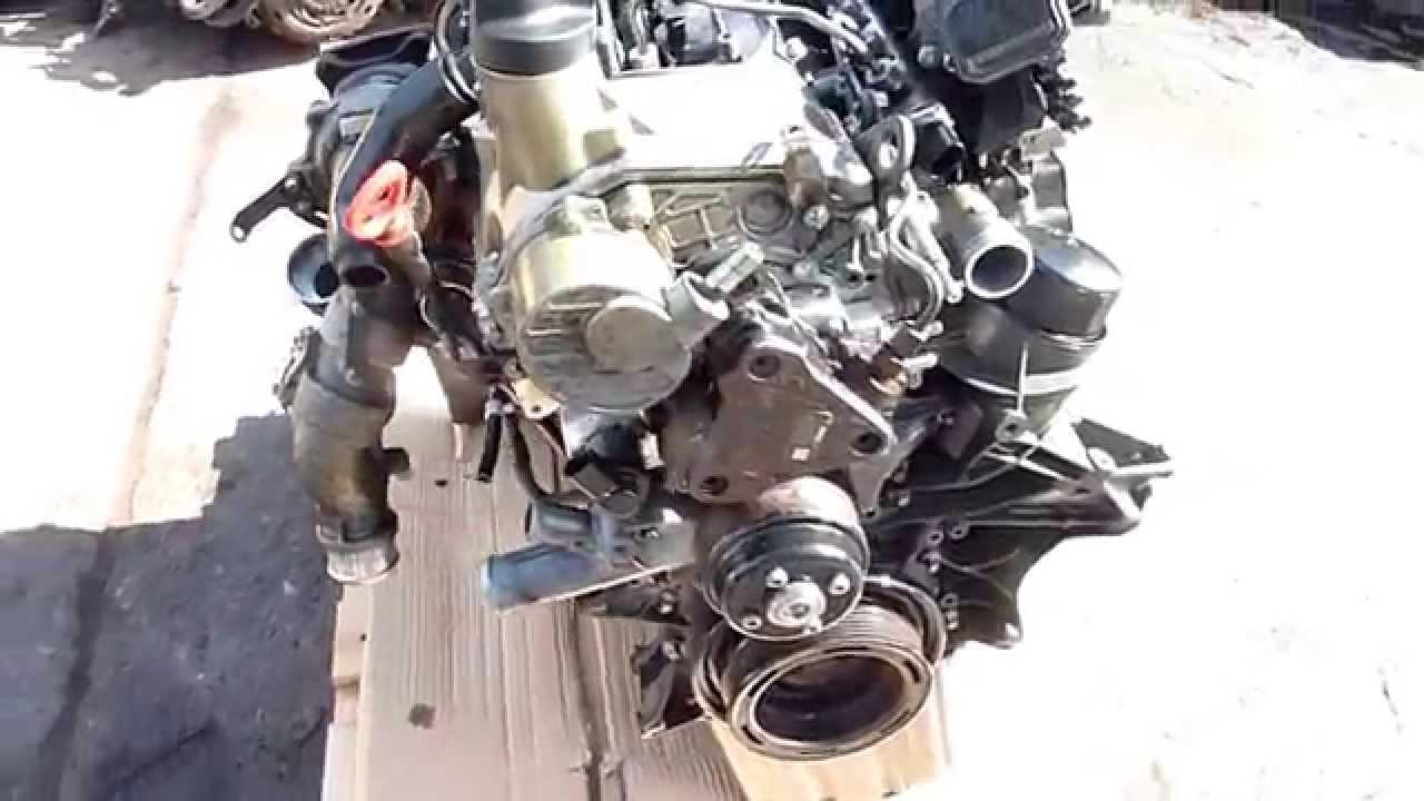 Mercedes Sprinter 313 315 Cdi Engine Fits 2006 2009 Youtube