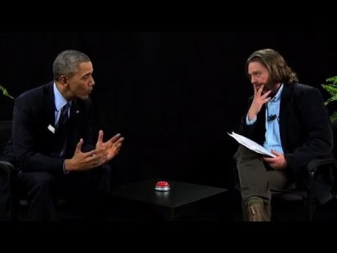 Obama Visits Galifianakis Show to Push Health Care