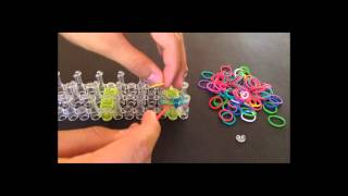 Fish Tail Rubber Band Bracelet Instructions By LOOM-A