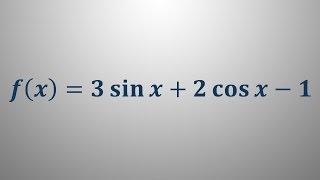 Odvod trigonometrične funkcije 1