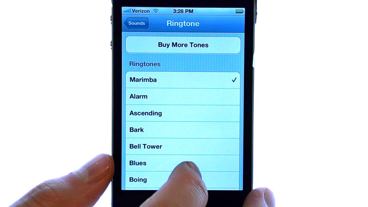 iphone 5 default ringtone free download