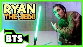 Ryan the Jedi! (BTS)