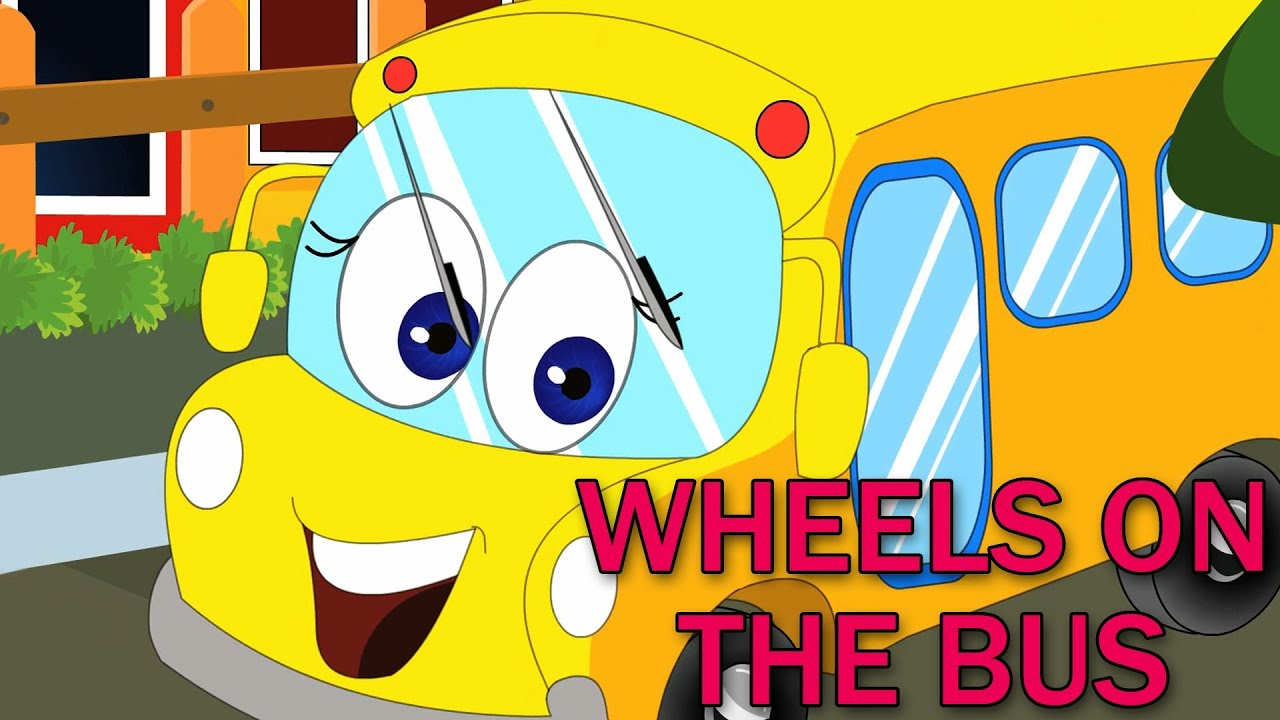 The Wheels On The Bus Go Round And Round Wheels on the Bus | Nu...