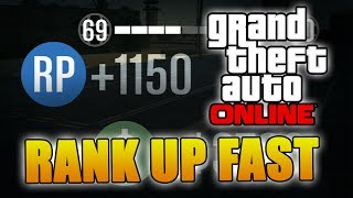 GTA 5 ONLINE RANK UP FAST! Plus Fast Money (XBOX & PS3