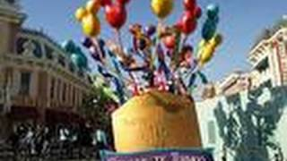 "♥♥ Disneyland's ""Celebrate! A Street Party"" Parade"