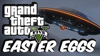 GTA 5: Top 10 FUNNY Easter Eggs!