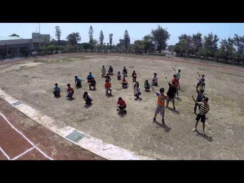 校慶六年級舞蹈預演
