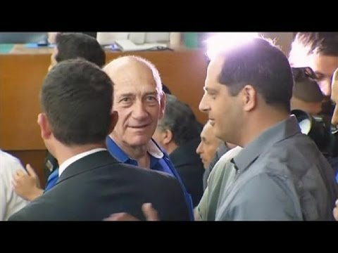 Former Israeli PM Ehud Olmert sentenced to six years in jail for accepting bribes