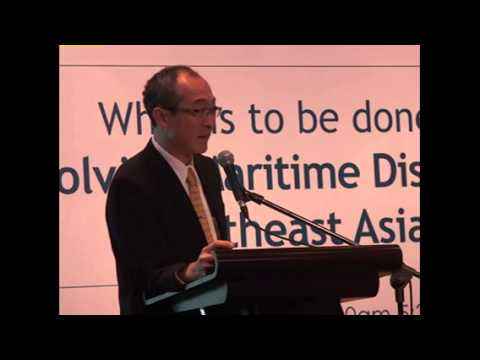 Presentation of Dr. Yoichiro Sato at the Angara Centre forum on maritime disputes