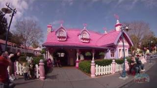 Minnie's House In Mickey's Toontown Fair At The Magic