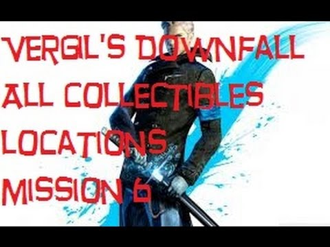 DmC - Vergils Downfall - Mission 6 All Collectibles (All Lost Souls, Cross Fragments)