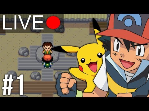 Let's Play LIVE - Pokemon Ash Gray #1, ROM LINK: http://www.pokecommunity.com/showthread.php?t=180722 Watch PokeCinema as he plays through Kanto like it should have been!