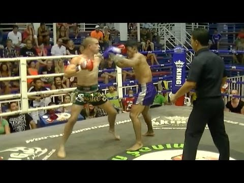 Mitch Burton vs Loylom Myanmar: Bangla Boxing Stadium, Phuket 16th March 2014