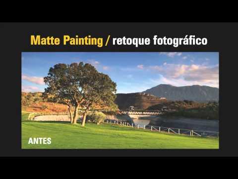 Presentación Curso Matte Painting Profesional por Emilio Toro