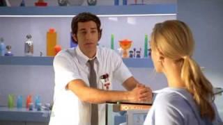 Chuck S02E11 - Chuck & Sarah Christmas-y Intro view on youtube.com tube online.