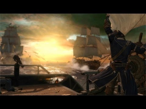 Assassin's Creed III Naval Warfare Trailer [North America]