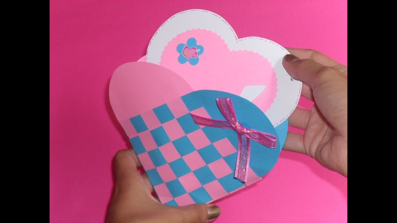 Corazon trenzado carta detalle original youtube - Como hacer un corazon con fotos ...
