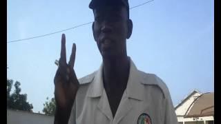 Le seul homme de tenue muet du senegal et dans le monde
